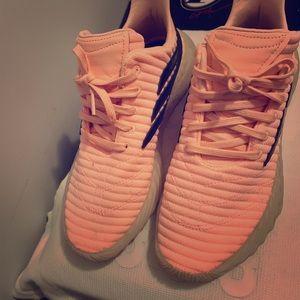 Pink  Adidas shoe